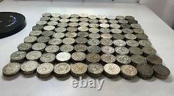 100 pcs Mexico 195767 silver 10% peso Morelos xfau investment lot BU0509
