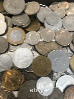 10 + 5 = 16+ pounds world foreign coin Mix bulk BU Monaco UNC AU Lot & Silver