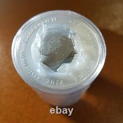 10 x Perth Mint 2014 Lunar Horse series 2 1 OZ silver coins FREE global shipping