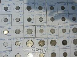 120 World Silver Coin Lot 1800s 1900s #719120W