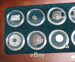 12 Religions of The Ancient World 12 Silver & Bronze Coin Collection Set(OOAK)