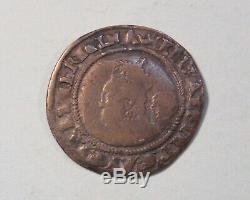 1568 Great Britain Silver Six Pence World Coin England UK 6p Queen Elizabeth I