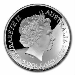 1626 A New Map Of The World 2019 1 Oz Pure Silver Domed Proof Coin Australia