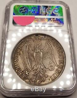 1626 German States Augsburg 1 Thaler World Silver Coin NGC XF Details