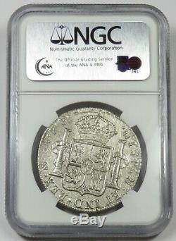 1782 NGC El Cazador Shipwreck MO FF Silver 8 Reales 8R Mexico World Coin #21473A