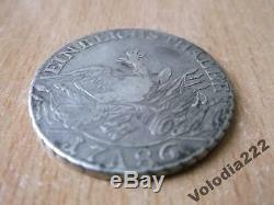 1786 A Prussia German States Thaler Silver World Coin Germany Eagle