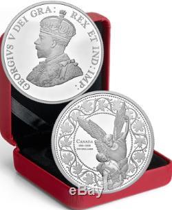 1918-2018 AngelVictory 100thAnniv. 1st World War Armistice $100 10OZ Silver Coin