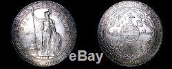 1930-B Great Britain Trade Dollar World Silver Coin UK England Hong Kong