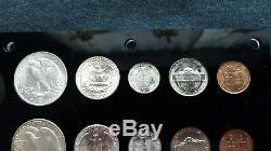 1941- P-d & S World War 2 Era Us Silver Mint Set Choice To Gem Bu Coins Look