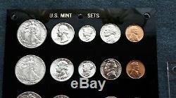 1942- P-d & S World War 2 Era Us Silver Mint Set Choice To Gem Bu Coins Look