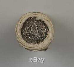 1986 Mexico $200 Pesos FIFA Soccer World Cup Commemorative Coin Roll OBW