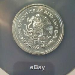 1986 Silver 200 Pesos World Cup Soccer Ngc Ms 68 High Grade Scarce Coin
