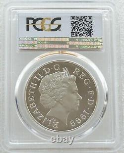 1999 Royal Mint Lady Diana £5 Five Pound Silver Proof Coin PCGS PR69 DCAM