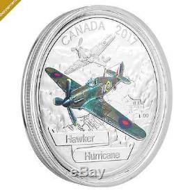 1 oz. 99.99% Pure Silver 3-Coin Subscription Aircraft of The Second World War