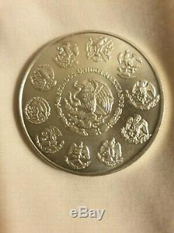 2007 1 Oz. Silver Mexican Libertad coin-Mintage of only 200,000 world wide