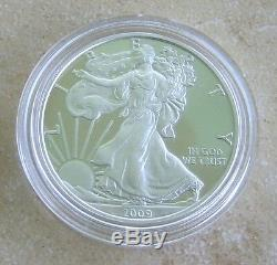 2009 Silver Eagle Proofed Thin Type DC Overstrike & Coin World Overstruck Proof