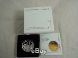 2010 Israel Akko / Unesco World Heritage Sites BU Silver Coin 1nis +box +COA