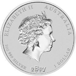 2012 Australia Perth Mint World Money Coin Show Black Dragon. 999 Silver Coin