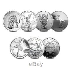 2013 Canada The Fabulous 15 World's Most Famous Silver 15-Coin Set (withBox & COA)