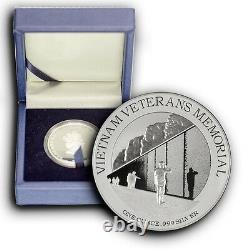 2015 America's National Monuments NIUE 4 Coins Set 1 oz Proof Silver Coins