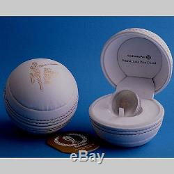 2015 ICC Cricket World Cup 1 Oz Silver Proof Coin! New Zealand