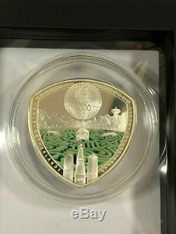 2016 Armenia 5000 Dram VAALS Labyrinth Of The World 2 Oz Silver Coin-1500 minted