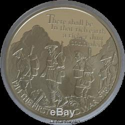 2016 The First World War £5 Silver Proof 6 Coin Set Issued By British Royal Mint