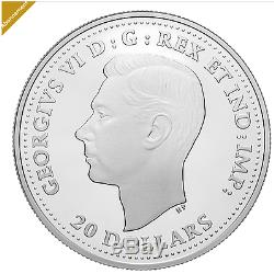 2017 1 oz. Pure Silver Coin Aircraft of The Second World War Hawker Hurrican