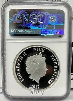 2017 Niue Star Wars Darth Vader Proof UHR 2 oz. 999 Silver Coin NGC PF 70 UCAM