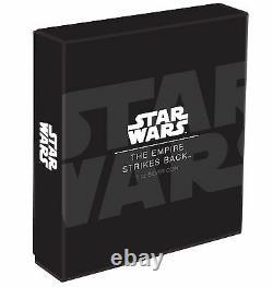 2017 Star Wars Empire Strikes Back Poster Coin 1 Oz. Silver Coin