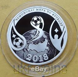 2017 Transnistria 1/2 Oz Silver Coin 2018 FIFA World Cup Russia Football Soccer