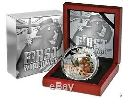 2017 WORLD WAR 1 MIDDLE EAST 5oz Silver Proof Coin