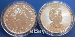 2018 Around The World 10-coin Bullion Set. (10) 1 Oz. 999 Fine Silver. Unc. Box
