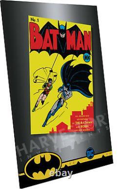 2018 DC Comics Batman #1 Premium Silver Foil 35 Grams Pure Silver