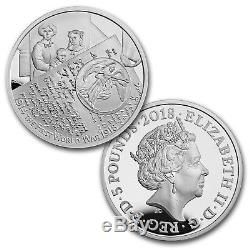 2018 GB 6-Coin Silver 100th Anniversary World War I Proof Set SKU#171062