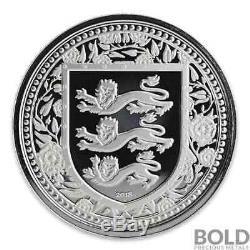 2018 Gibraltar Royal Arms of England Silver 1 oz BU (5 Coin Pack)