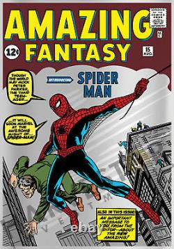 2018 Marvel Comics Amazing Fantasy #15 Silver Foil 1 Oz. First In Series