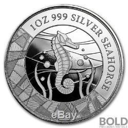 2018 Samoa Silver Seahorse 1 oz (5 Coin Pack)