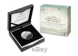 2019 A New Map of the World $5 1oz Fine Silver Proof Domed Two Coin Set