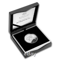 2019 Australia 1 oz Silver 1812 Map of the World Domed Proof Coin BOX COA Ebux