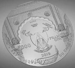 2019 Cameroon 2000 Francs 2 oz SIlver Proof coin World Cultures Series Ganesha