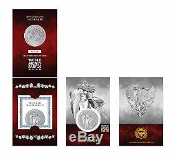 2019 Germania 1oz. 9999 Silver Coin 2020 World Money Fair Special