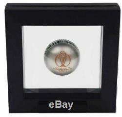 2019 ICC CRICKET WORLD CUP BALL SHAPED Silver Proof Coin