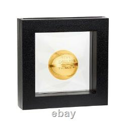 2020 1 oz Silver Basketball Spherical Coin Samoa. 999 Fine (withBox & COA)