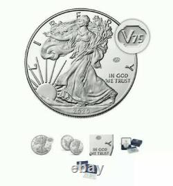 2020 End of World War 2 II 75th Anniversary American Eagle Silver Proof Coin