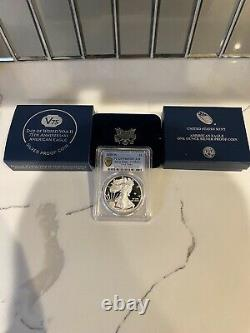 2020 End of World War II 75th Anniversary Silver Eagle v75 Coin PR69DCAM