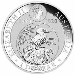 2020 KOOKABURRA BERLIN WORLD MONEY FAIR 1oz 99.99% PURE SILVER COIN
