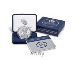 2020 W END of WORLD WAR II 75th ANNIVERSARY AMERICAN EAGLE Silver Coin PRESALE