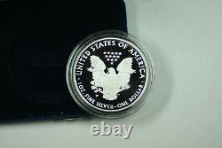 2020-W Silver American Eagle V75 Privy World War II WW2 Proof Coin with Box COA