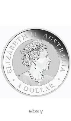 2021 Australia Kookaburra Berlin World Money Fair 1 oz Silver Coin PRESALE